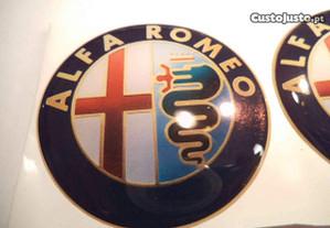 simbolos jantes alfa romeo silicone 50mm