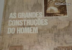 Livro As Grandes Construçóes Do Homem