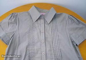 Blusa verde acinzentada - Tamanho S