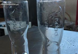 Conj. 20 copos de vidro - Pepsi