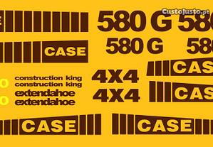 Kit autocolantes Case 580G Turbo