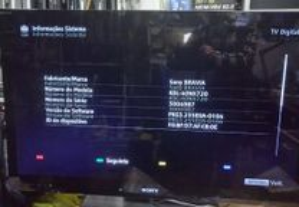 LCD Sony Kdl40nx720 para peças