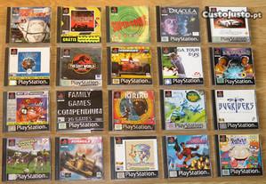 Playstation 1: Lote de Jogos N.1