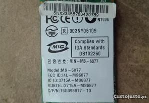 Placa Wireless MS-6877- Usada