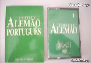 K7 Curso de Alemão + Dicionário Alemão Português
