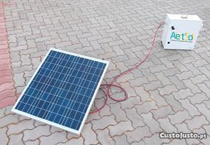 Painel Solar de 50W/12V Novo