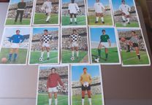 Cromos Ases do Futebol 1970/71 Palirex