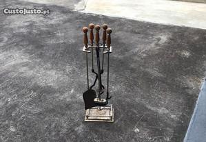 conjunto de limpeza de lareira/fireplace cleaning