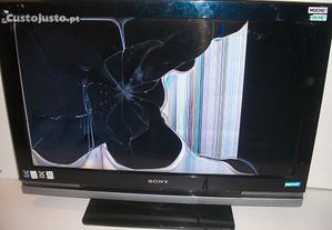 Tv Lcd Sony Bravia KDL-32W4000 para Peças