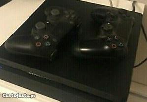 Playstation 4 com 2comandos 1Tb