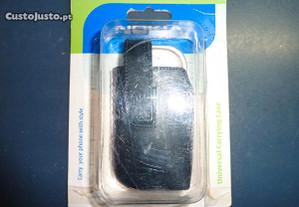 Capa/Bolsa Pele para Nokia 7610 - Nova na Caixa!