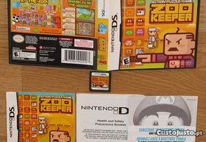 Nintendo DS: Zoo Keeper