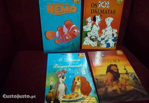 Nemo, A dama e o vagabundo,101 dalmatas,A dama e o