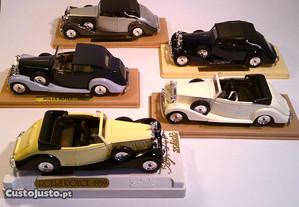 Rolls Royce, Cadillac, Duesenberg - escala 1/43
