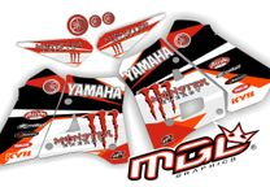 Kits gráficos autocolantes - Yamaha DTR 125 90-0