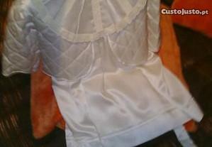 Vestido de baptizado para menina entre 11 e 15 mes
