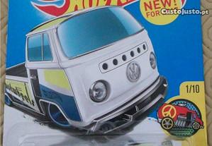 VW T2 Pick Up, Porsche 911 Polizei (Hot Wheels)