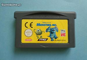 Jogo Game Boy Advance - Monster, Inc.