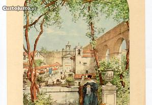 Lisboa - gravura