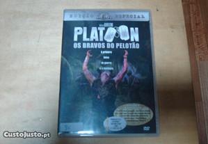 dvd original platoon os bravos do pelotão