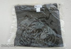 T-Shirt La Redoute Cinzenta Tigre nunca usada