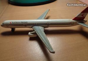 Miniatura Avião Metal Austrian Airlines Of.Envio