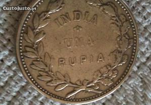 1 Rupia em prata 1912 Índia