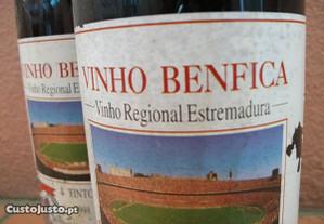 Garrafas numeradas de Vinho Benfica (1998)