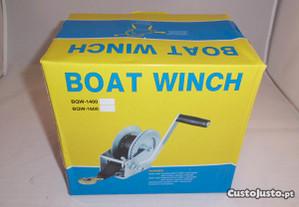 Guincho atrelado/reboque barco 1200lbs s/ cinta