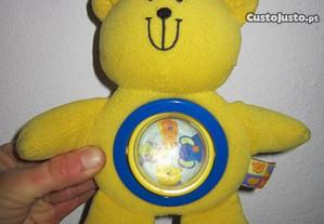 boneco ursinho com gizo para bebe