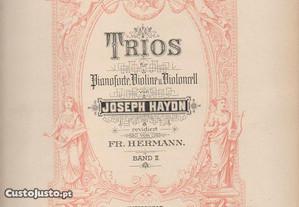 Haydn: Trios para piano, violino e violoncelo