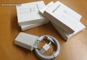 Carregador + Cabo Lightning USB (Novo)
