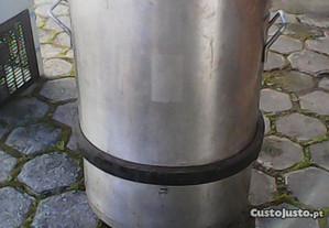 balde para restos de comida e lixo (restaurante)