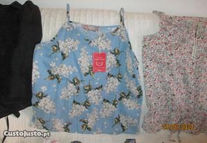 8 blusas de senhora para Verão