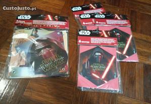 Conjunto festa de aniversario star wars