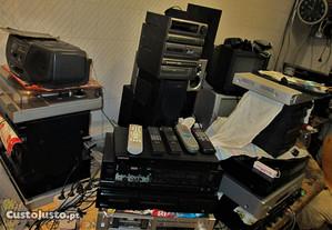 som, imagem e electrodomésticos diversos