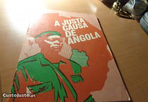Livro a Justa Causa de Angola 37 Páginas Of.Envio