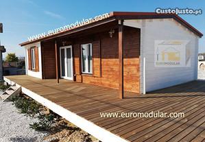 Casas de madeira pre-fabricadas casas modulares