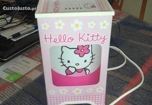 Candeeiro hello kitty