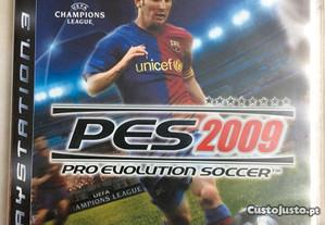 Jogo Playstation 3 Ps3 PES 2009