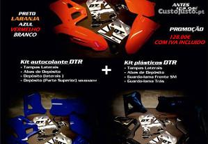 Plásticos Yamaha DTR 125 com autocolantes