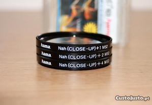 Lentes Hama 76952 close-up Set + 1 + 2 + 4 - 52 mm