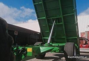 Reboque agricola tribasculante reforçado Novo10000