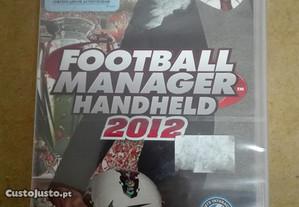 Jogo Football Manager 2012 PSP- Novo