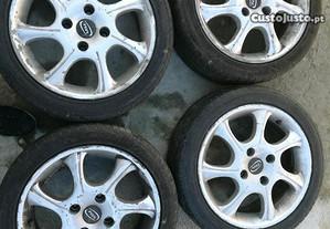 4 jantes KIA r16 com pneus 205 45 r16