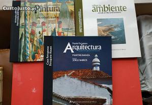 3 Livros de Selos dos Correios CTT Arquitectura, A