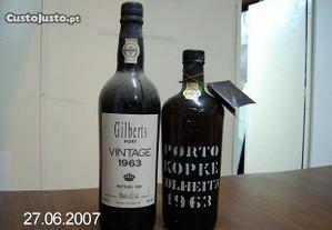 Vinho do Porto vintage/colheita 1963