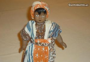 Boneca de porcelana de coleção bonecas do Mundo