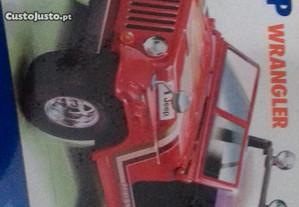 Kit Burago Jeep Wrangler 1980 escala 1/24