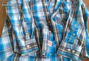 Camisa Xadrez Throttleman M